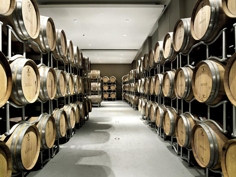 affinamento vini